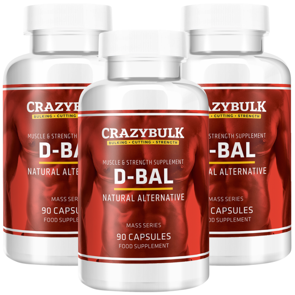 D-BAL by CrazyBulk Testosterone Booster
