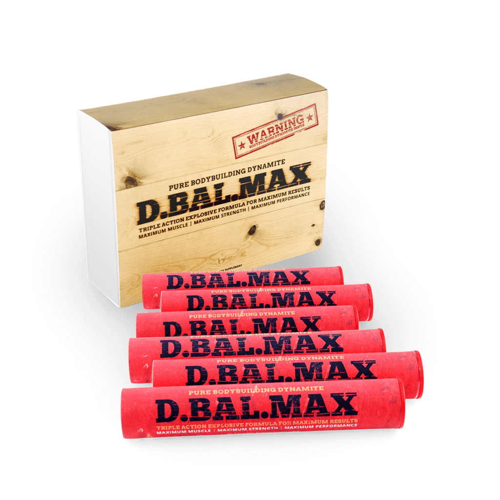 D.BAL MAX Testosterone Booster